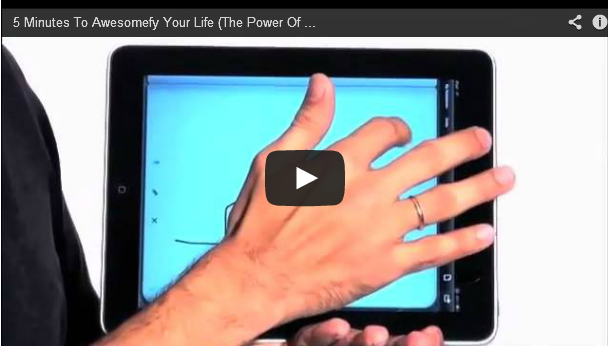 5 Minutes To Awesomefy Your Life